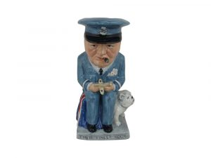 Winston Churchill Air Commodore Toby Jug by Bairstow Pottery