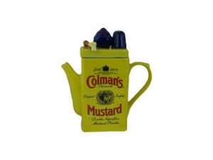 Colmans Mustard Tin Novelty Teapot Ceramic Inspirations