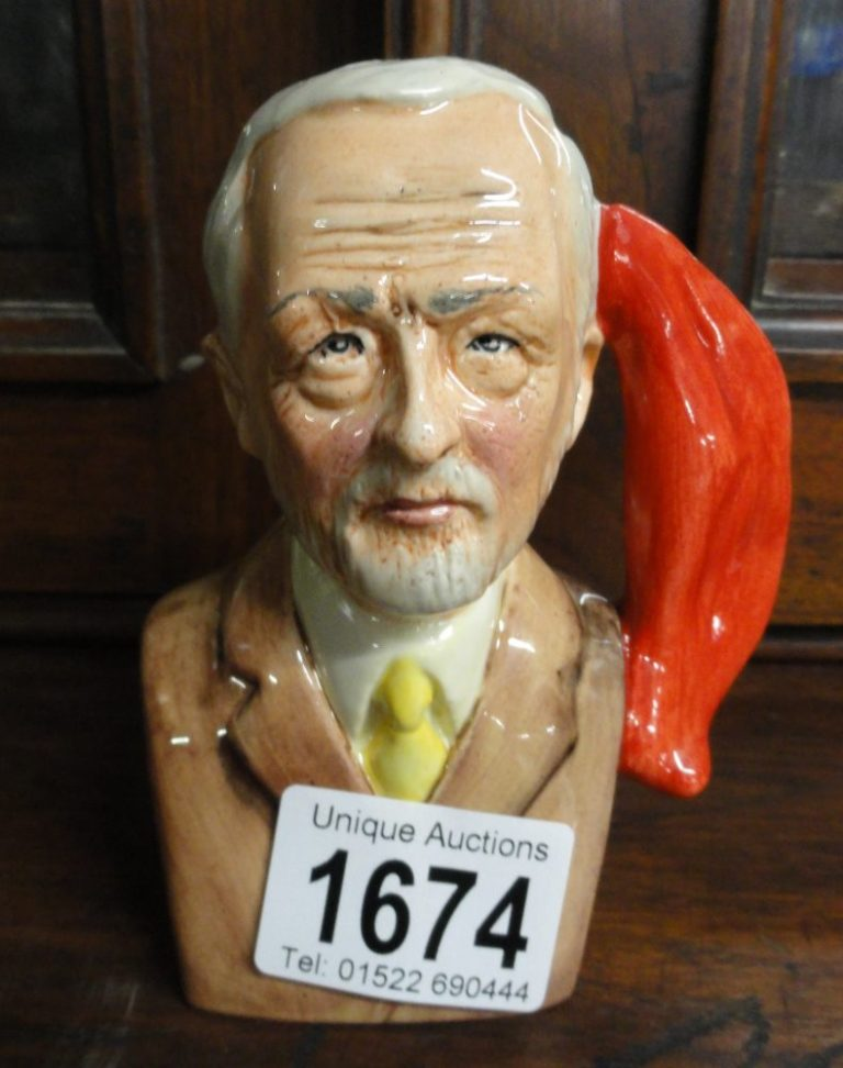 jeremy corbyn character jug colourway