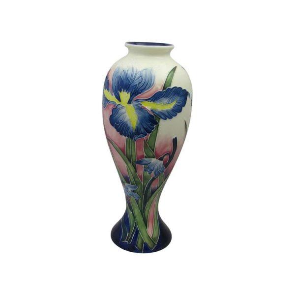 Old Tupton Ware Iris Design 11 Inch Vase Stoke Art Pottery
