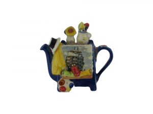 Artists Easel Shaped One Cup Novelty Teapot Tony Carter