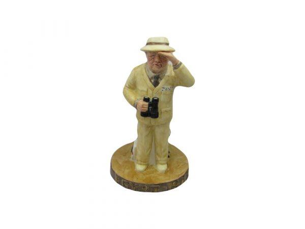 Winston Churchill The Desert War Figure Bairstow Pottery