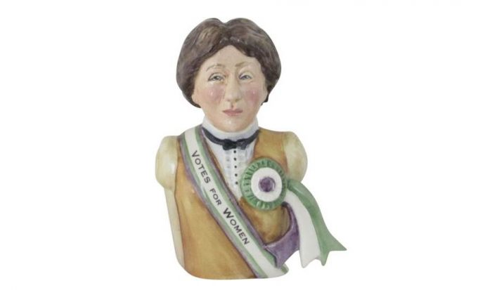 Votes for Women 100th Anniversary Toby Jug