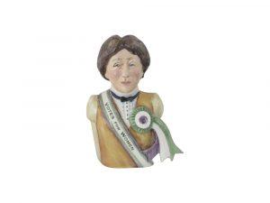 Emmeline Pankhurst Votes for Women Toby Jug Bairsow Pottery