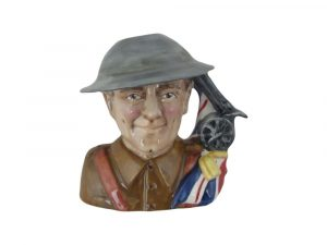 First World War One Soldier Character Jug Bairstow Pottery