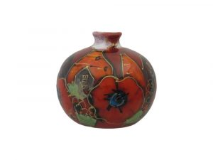Anita Harris Art Pottery 10cm Vase Potteries Poppy Design