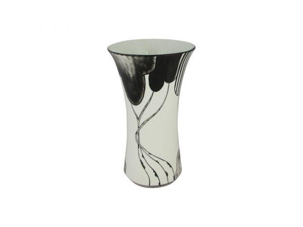 Emma Bailey Ceramics Vase Black Deco Trees Design
