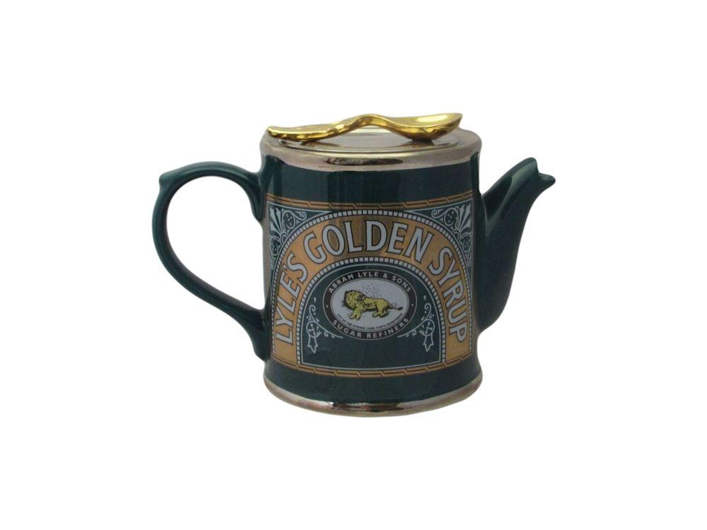 Lyle S Golden Syrup Tin Novelty Teapot Ceramic
