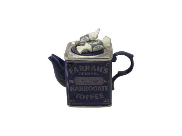 Farrah's Harrogate Toffee Tin Novelty Teapot