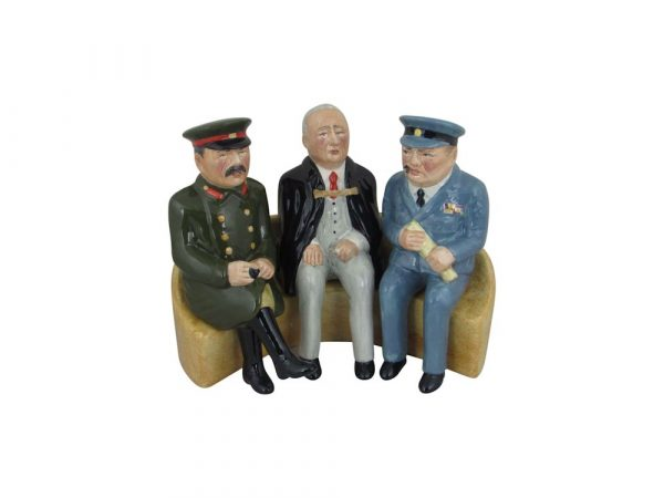 Yalta Conference 1945 Figure Bairstow Pottery
