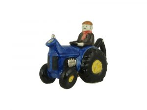 Tractor One Cup Collectable Novelty Teapot Carters of Suffolk