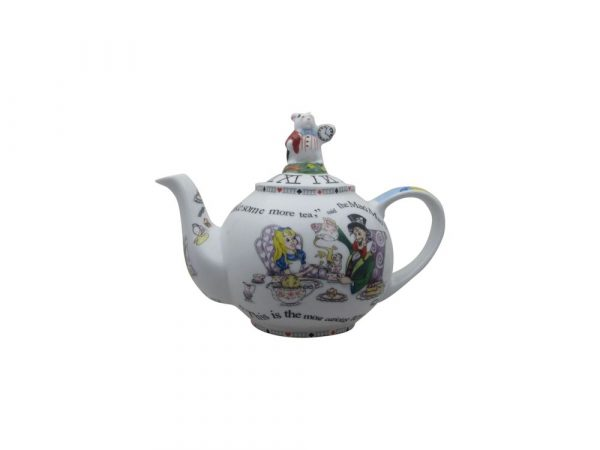 Alice In Wonderland White Rabbit Two Cup Teapot Stoke