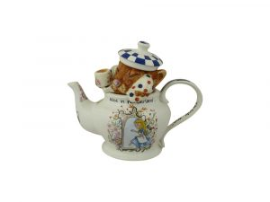 Alice in Wonderland Dormouse Teapot Paul Cardew