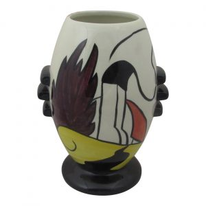 Lorna Bailey 3 Knob Vase House and Path Design