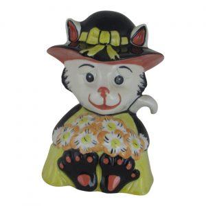 Lorna Bailey Art Ware Pottery Cat Bouquet