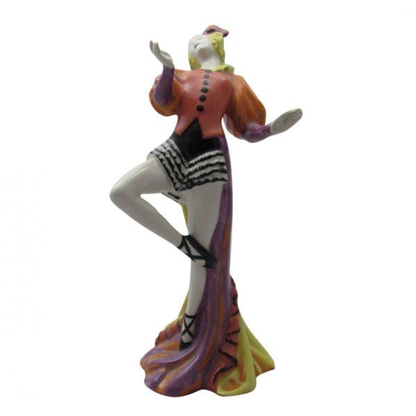 Lorna Bailey Art Deco Lady Figurine Margot