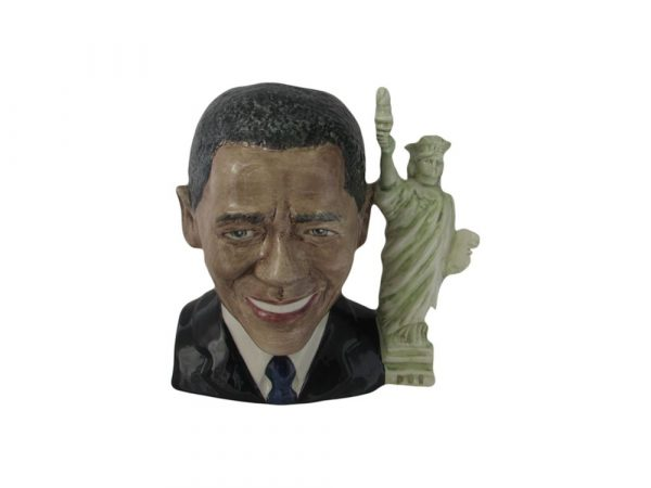 President Barack Obama Large Toby Jug Bairstow Pottery