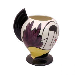 Lorna Bailey Artware Vase House and Path Design.