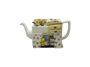 Kitchen Sink Shape Novelty Teapot Paul Cardew Designs.