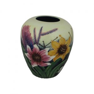Old Tupton Ware 6 inch Vase Summer Bouquet Design