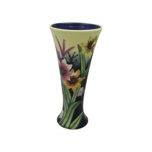 Old Tupton Ware Summer Bouquet Design 8inch Vase