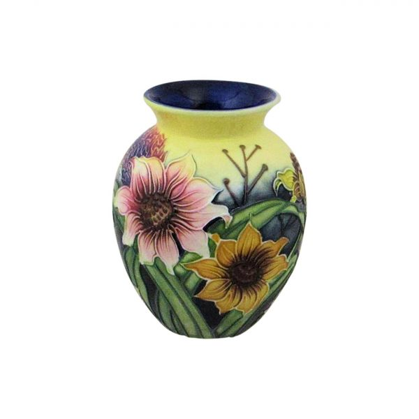 Old Tupton Ware 10cm Vase Summer Bouquet Design