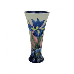 Iris Design Flared Vase Old Tupton Ware