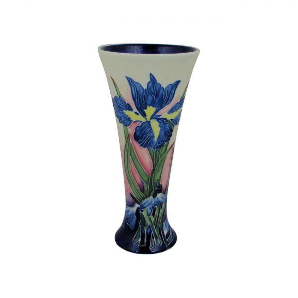 Iris Design Flared Vase Old Tupton Ware
