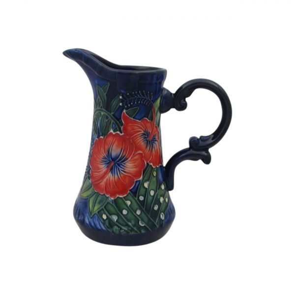 Old Tupton Ware Hibiscus Design Jug