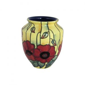Yellow Poppy 4 inch Vase by Old Tupton Ware