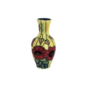 Old Tupton Ware Small Vase Yellow Poppy Design