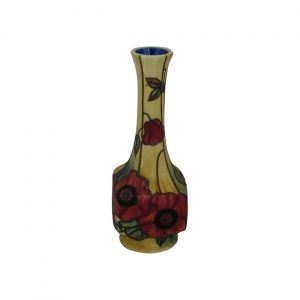Old Tupton Ware Vase 7 inches high Yellow Poppy Design
