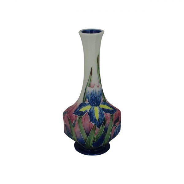 Old Tupton Ware 7inch Vase Iris Design