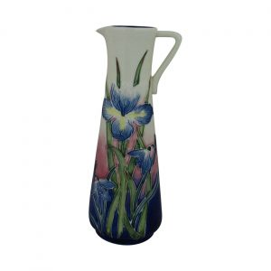 Old Tupton Ware Tall Slim Jug Iris Design