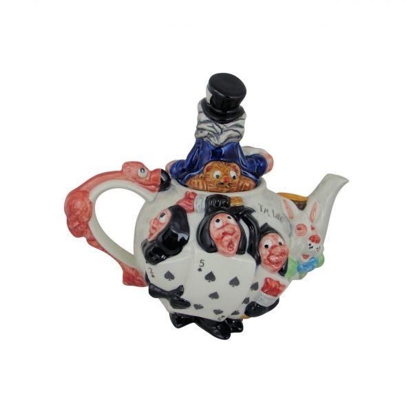 Alice In Wonderland Teapot Paul Cardew Design Stoke Art Pottery
