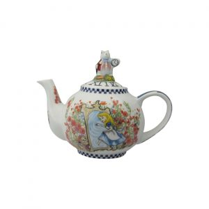 Alice Through The Looking Glass Two Cup Teapot