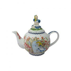 Alice Through The Looking Glass Six Cup Teapot