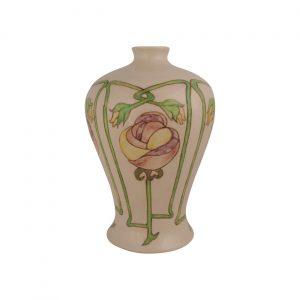 Burslem Pottery Stoneware Vase Art Nouveau Design