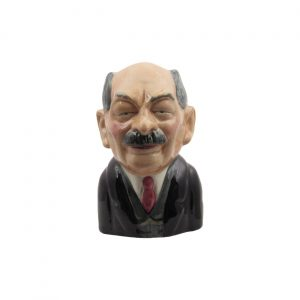 Clement Atlee Toby Jug by Bairstow Pottery