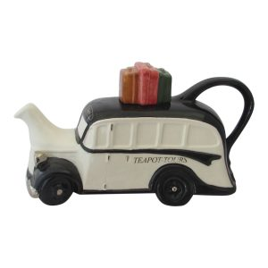 Coach Collectable Novelty Teapot Black Colour Way
