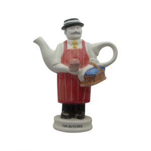 Butcher Collectable Novelty Teapot Carters of Suffolk