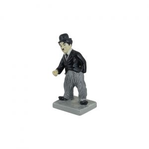 Charlie Chaplin Black and White Movies Figure Bairstow Pottery