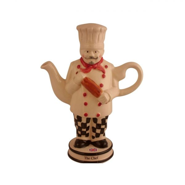 Chef Collectable Novelty Teapot Carters of Suffolk