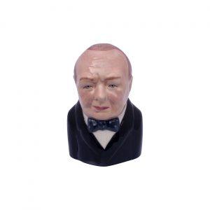 Winston Churchill Toby Jug Range 2 by Bairstow Pottery