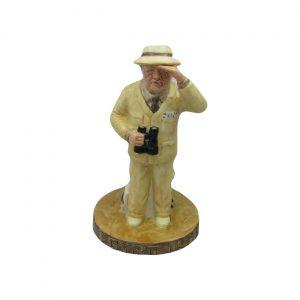 Winston Churchill Desert War Toby Jug Bairstow Pottery