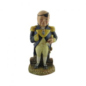 Winston Churchill Figure First Sea Lord Bairstow Pottery
