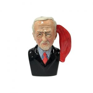 Oh Jeremy Corbyn Toby Jug Black Jacket Colour Way