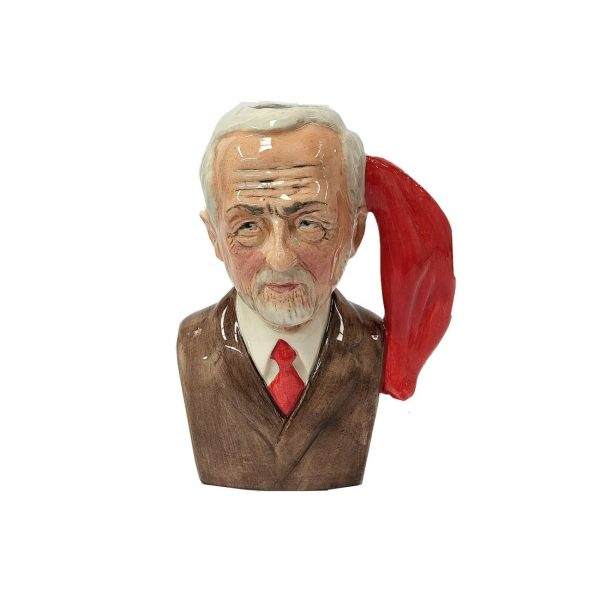 Oh Jeremy Corbyn Toby Jug Brown Jacket Colour Way