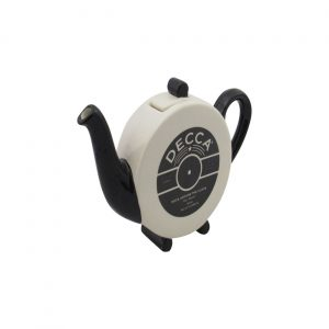 Deco Record Label Collectable Novelty Teapot