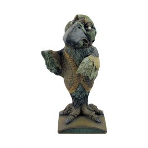 Burslem Pottery Grotesque Bird The Defender
